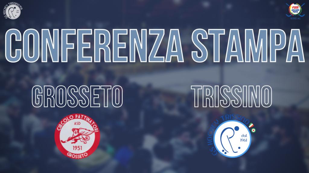 Conferenza Stampa di Nuno Resende pre Grosseto vs Trissino