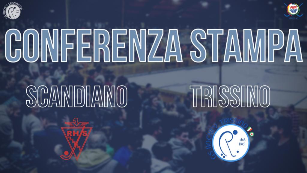 Conferenza Stampa di Nuno Resende pre Scandiano vs Trissino