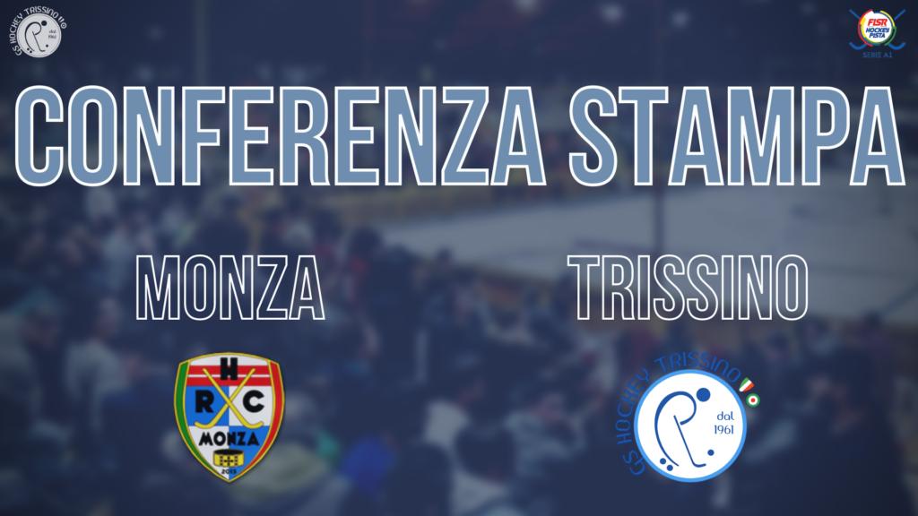 Conferenza Stampa di Nuno Resende pre Monza vs Trissino
