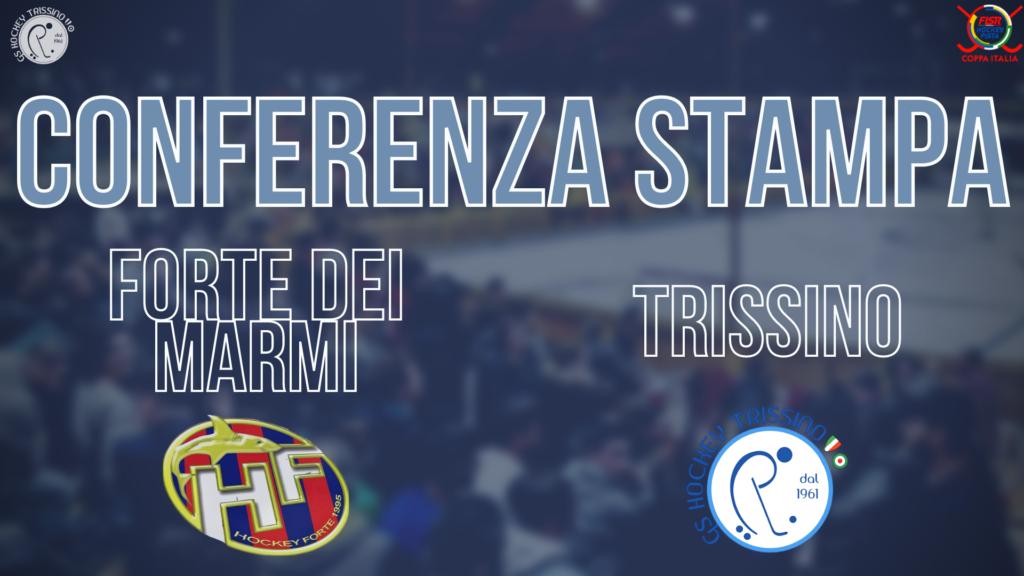 Conferenza Stampa di Nuno Resende pre Forte dei Marmi vs Trissino (Quarti di Finale di Coppa Italia)