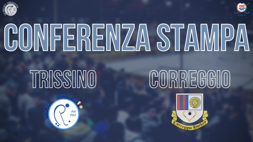 Conferenza Stampa di Nuno Resende pre Trissino vs Correggio