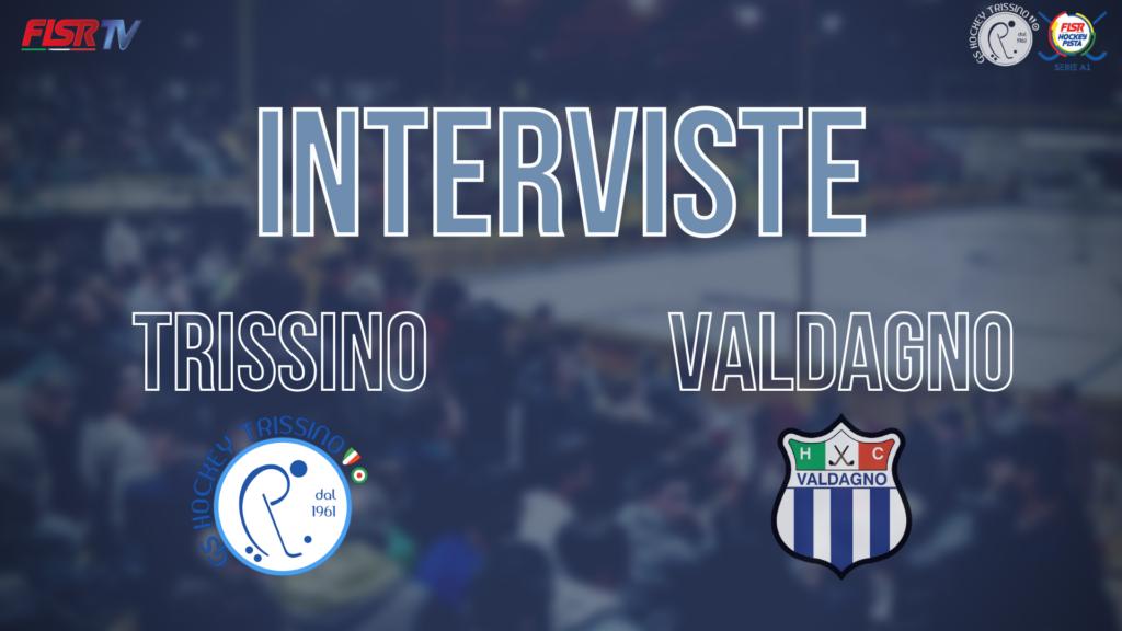 Intervista a Mattia Cocco (Valdagno) e Davide Gavioli post Trissino vs Valdagno